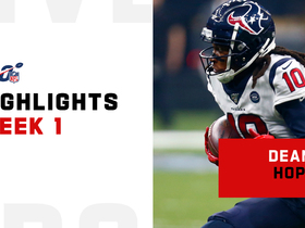 Every DeAndre Hopkins target | Week 1