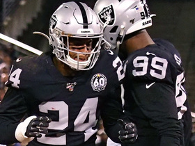 Raiders rookies Abram, Ferrell make big impact on back-to-back downs