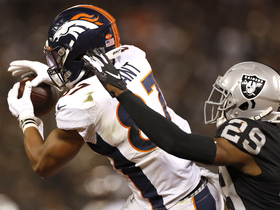 Noah Fant's first NFL catch helps Broncos convert on key third down