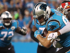 Greg Olsen reels in clutch 6-yard catch with one hand