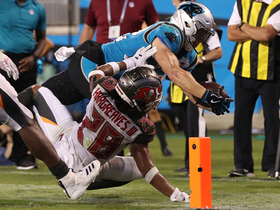 Bucs defense shuts down McCaffrey on fake 'Philly Special'