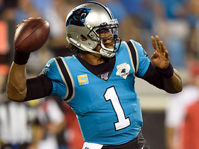 Cam can't connect with Samuel to convert fourth down
