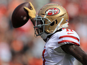 Jimmy G finds wide-open Marquise Goodwin for 38-yard TD