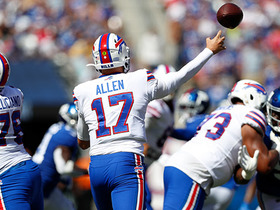 Can't-Miss Play: Josh Allen channels Mahomes on side-arm strike