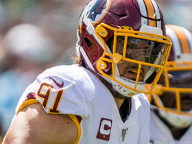 Ryan Kerrigan runs down Dak for big sack on third-down