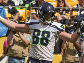 Dissly high-points TD for Seahawks' first ever points at Heinz Field