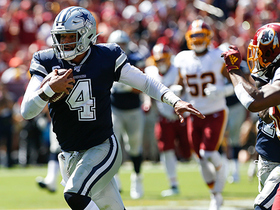 Dak Prescott takes off for HUGE 42-YARD run on zone read