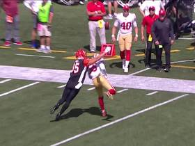 Kwon Alexander jumps route to pick off Andy Dalton