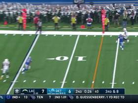 Keenan Allen shows toe-drag swag on first-down catch