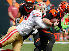 DeForest Buckner takes down Andy Dalton on third-down sack