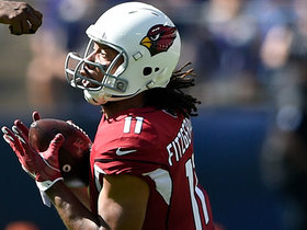 Kyler Murray finds a WIDE-OPEN Larry Fitzgerald for 54-yard gain