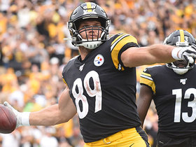 Mason Rudolph hits Vance McDonald off play-action for late TD