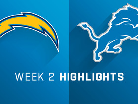 Chargers vs. Lions highlights | Week 2
