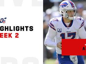 Josh Allen's best throws vs. Giants | Week 2
