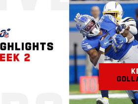 Kenny Golladay's best catches from 117-yard game | Week 2