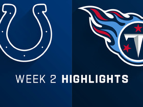 Colts vs. Titans highlights | Week 2