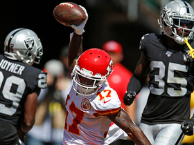 Can't-Miss Play: Hardman's first NFL TD is 42-YARD dime from Mahomes