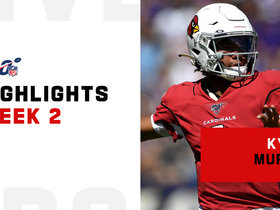Kyler Murray's best throws vs. Ravens | Week 2