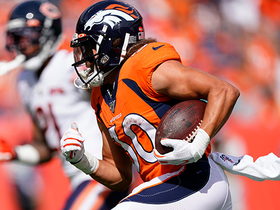 Phillip Lindsay finds open space for a LONG third down conversion