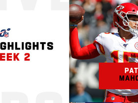 All four of Patrick Mahomes' second-quarter TDs | Week 2