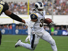 Can't-Miss Play: Todd Gurley dives for the pylon on TD run