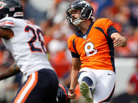 Brandon McManus sends 32-yard field goal through uprights