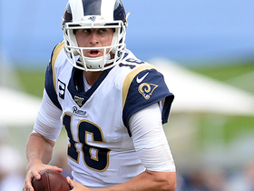 Sean McVay calls Jared Goff's number on QB sneak for TD