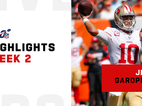 Jimmy Garoppolo's best throws vs. Bengals | Week 2