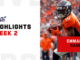 Every Emmanuel Sanders catch from Bears-Broncos | Week 2