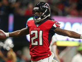 Desmond Trufant intercepts Wentz for second time in first half