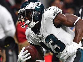 Wentz stays patient to find Agholor wide open for TD