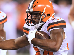 Nick Chubb slices through Jets' defense for 19-yard TD