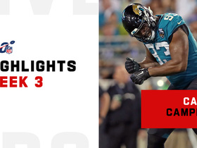 Calais Campbell's best plays | Week 3