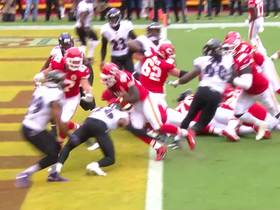 Chiefs mix up Ravens' D for Shady's first TD in K.C.