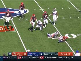 Jordan Phillips takes down Andy Dalton for sack