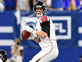 Matt Ryan makes impressive cross-body throw to Hooper for 13-yard TD