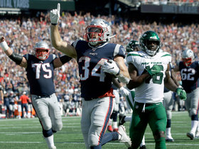 Pats' new starting LT paves way for Rex Burkhead's TD