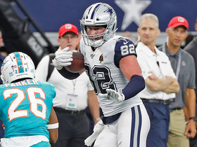 Witten makes Dolphins defender miss en route to first down