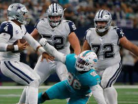 Ex-Cowboy Taco Charlton gets sack on his old team