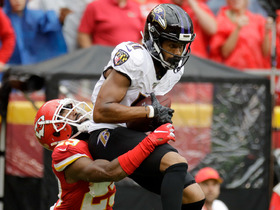 Seth Roberts saves Lamar Jackson's fourth-down heave with great adjustment for catch