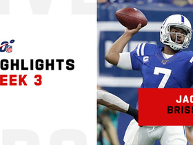 Jacoby Brissett's best throws vs. Falcons | Week 3