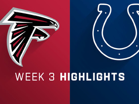 Falcons vs. Colts highlights | Week 3
