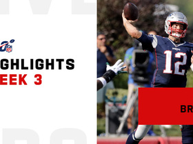 Tom Brady's best throws in division win over Jets | Week 3