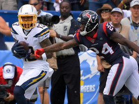 Bolts capitalize off Texans' turnover with toe-tapping TD from Keenan Allen