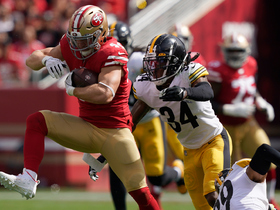 Kyle Juszczyk shows POWER on 22-yard catch and run