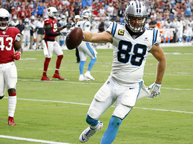 Panthers rub-route opens up Greg Olsen for walk-in TD