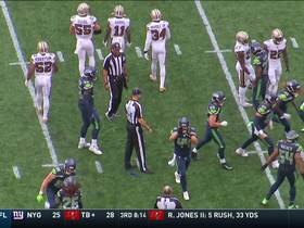 Seahawks' special teams delivers critical turnover after Saints muff punt