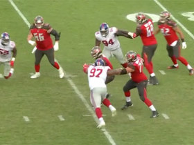 Dexter Lawrence engulfs Jameis Winston for first NFL sack