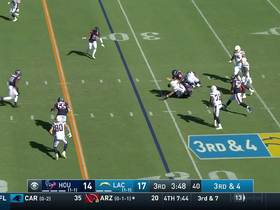 Texans recover fumble after Mercilus knocks ball loose from Rivers