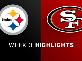 Steelers vs. 49ers highlights | Week 3